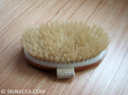 Dry skin brush picture